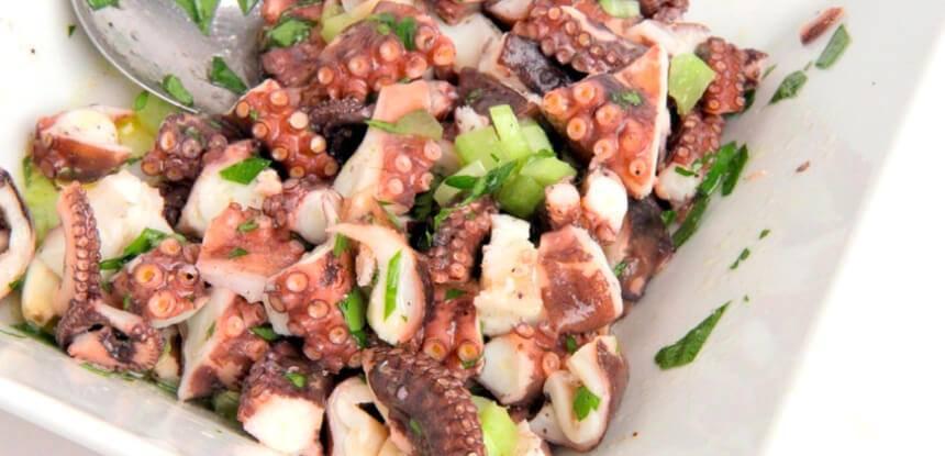 salata od hobotnice restoran muzej