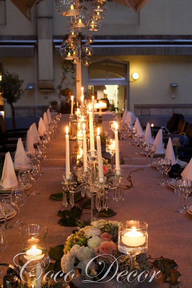 Stol za vjenčanje restoran muzej