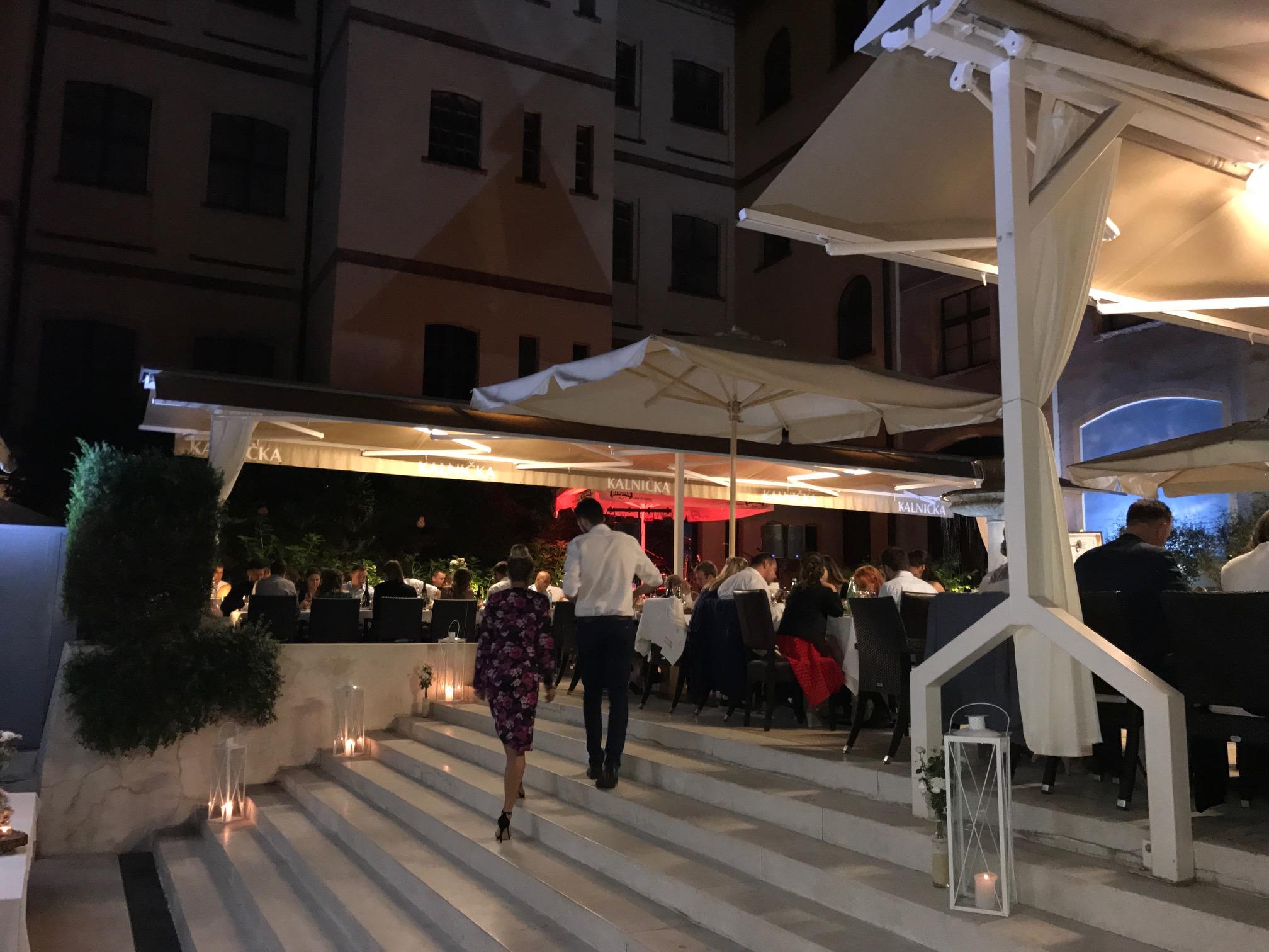 Restoran muzej ulaz na terasu